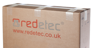 Redetec boxed for dispatch